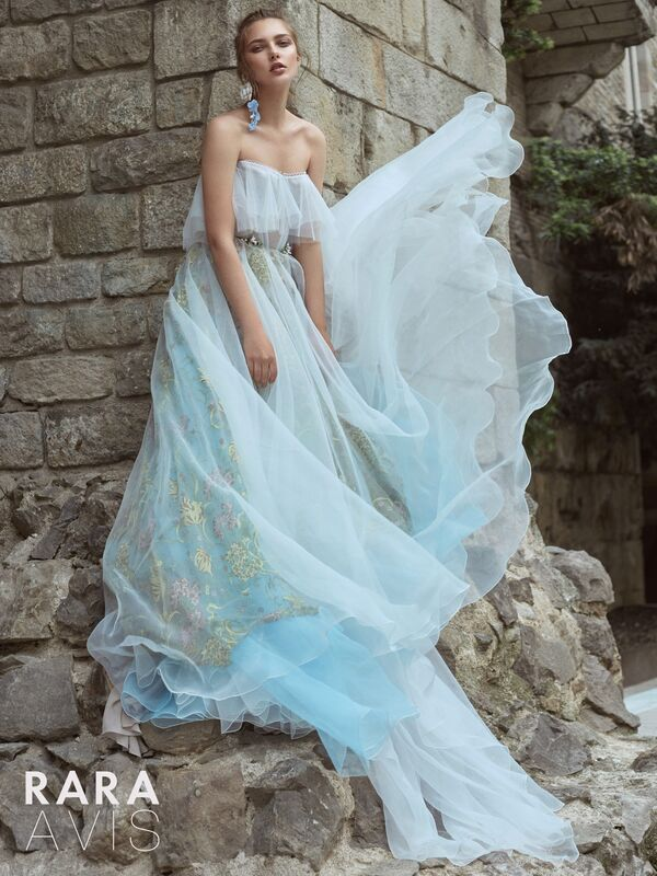 Свадебное платье напрокат Rara Avis Платье свадебное Floral Paradise  Ilan - фото 1