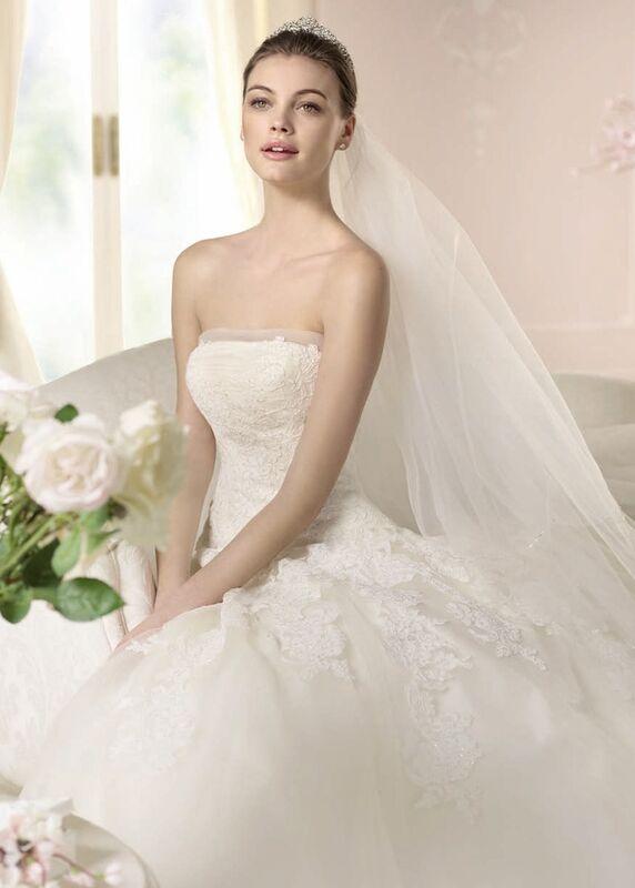 Свадебное платье напрокат White One (Pronovias) Платье свадебное «Danit» - фото 3