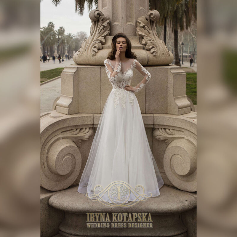 Свадебное платье напрокат Lavender Свадебное платье Victoriya - фото 1