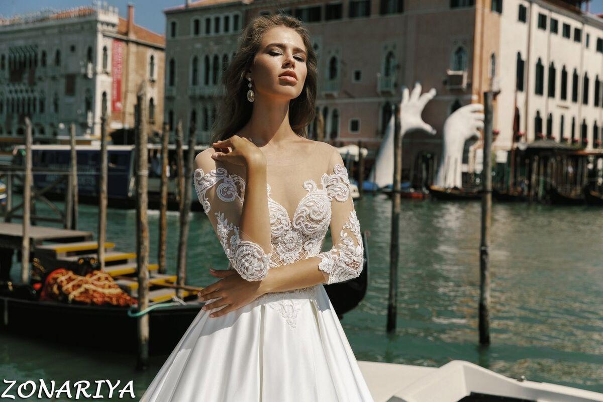 Свадебный салон Bonjour Свадебное платье Zonariya из коллекции La Douceur - фото 3