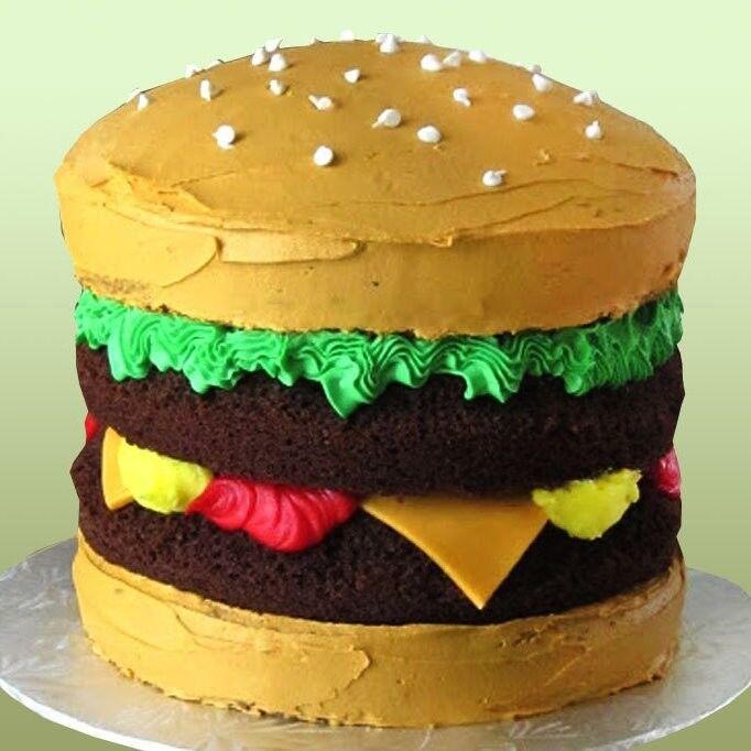 Торт Tortas Торт «Чудо-гамбургер» - фото 1