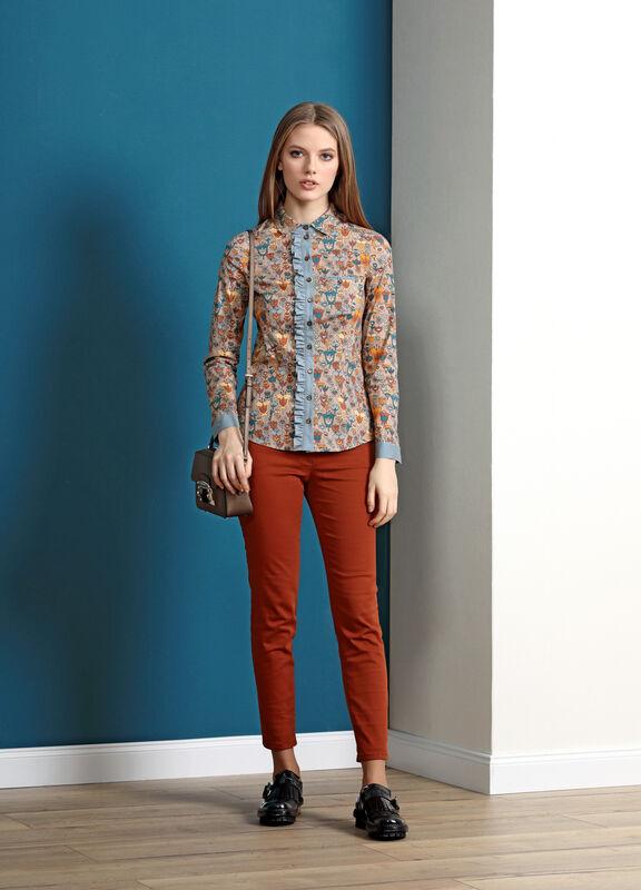 Кофта, блузка, футболка женская Burvin Блузка женская 5693 - фото 1