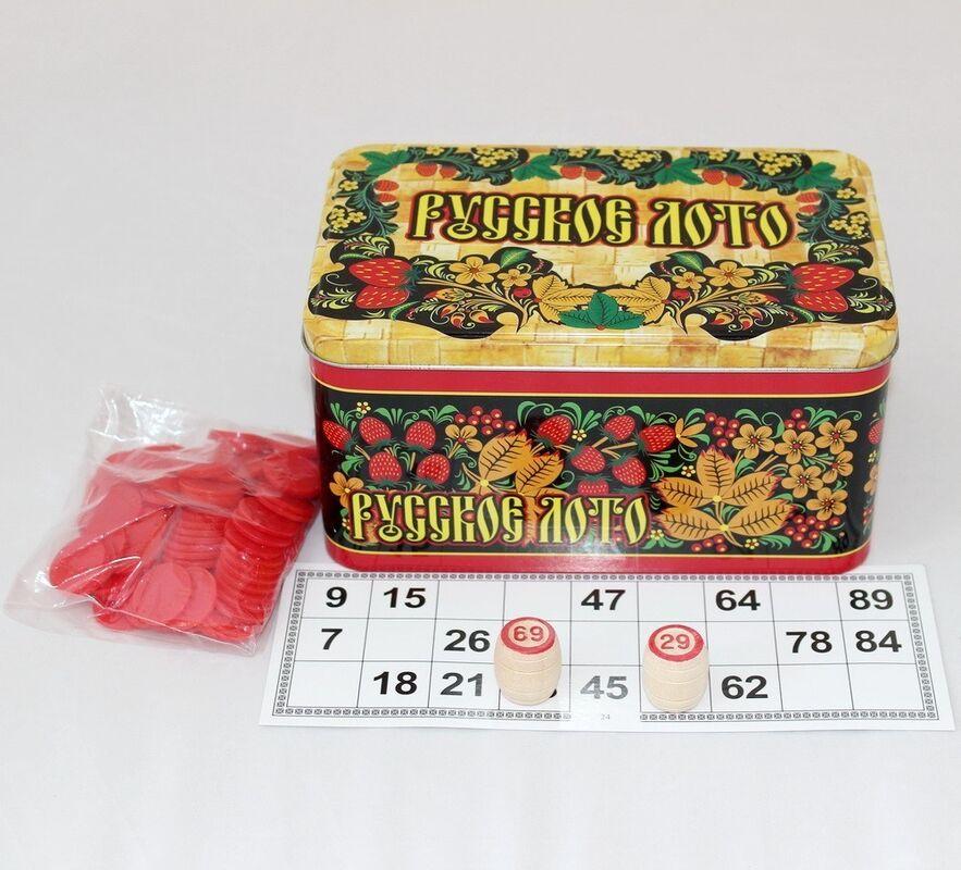 Магазин настольных игр Нескучные игры Настольная игра «Русское лото» - фото 4