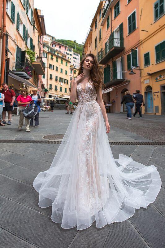 """Свадебное платье напрокат ALIZA свадебное платье """"Merionny"""" - фото 3"""