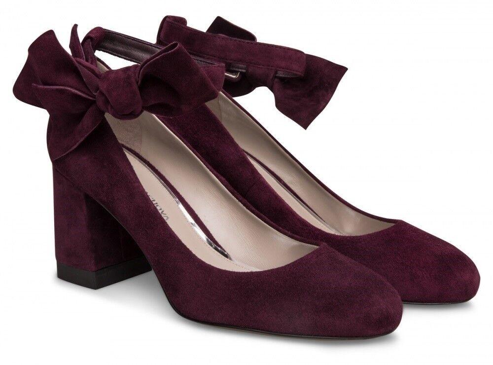 Обувь женская Alla Pugachova Туфли женские AP1775-01 cabernet - фото 1