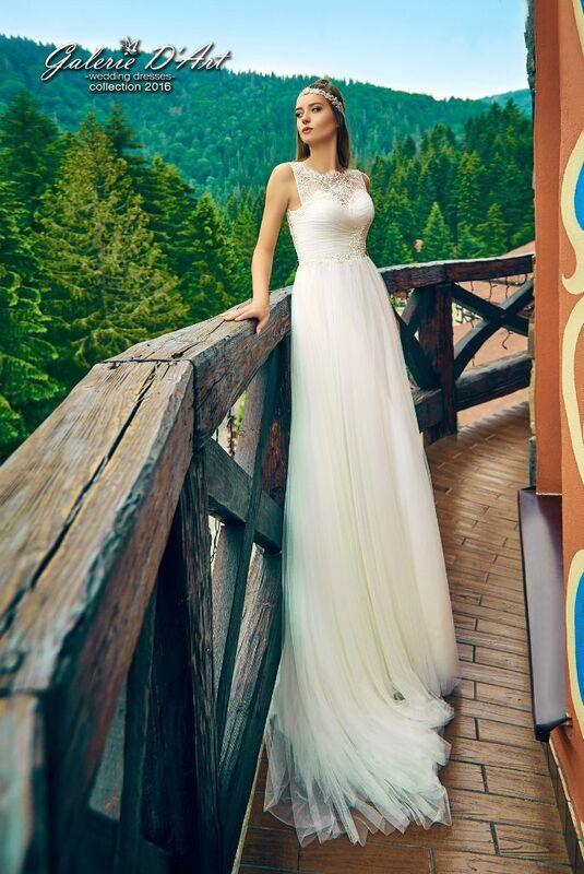 Свадебное платье напрокат Galerie d'Art Платье свадебное «Мерлин» из коллекции BESTSELLERS - фото 1