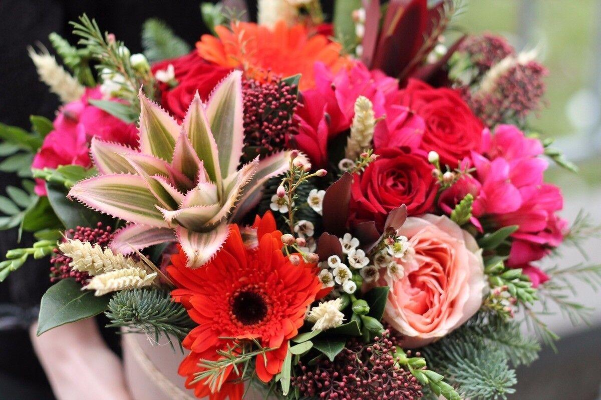 Магазин цветов Cvetok.by Композиция «Ананасовая страсть» - фото 2