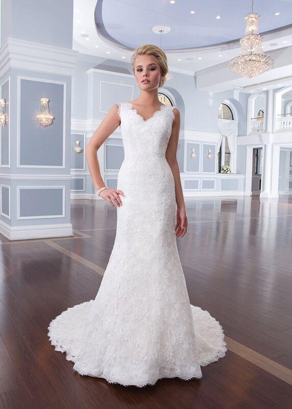 Свадебное платье напрокат Lillian West Платье свадебное «Amalie» - фото 1