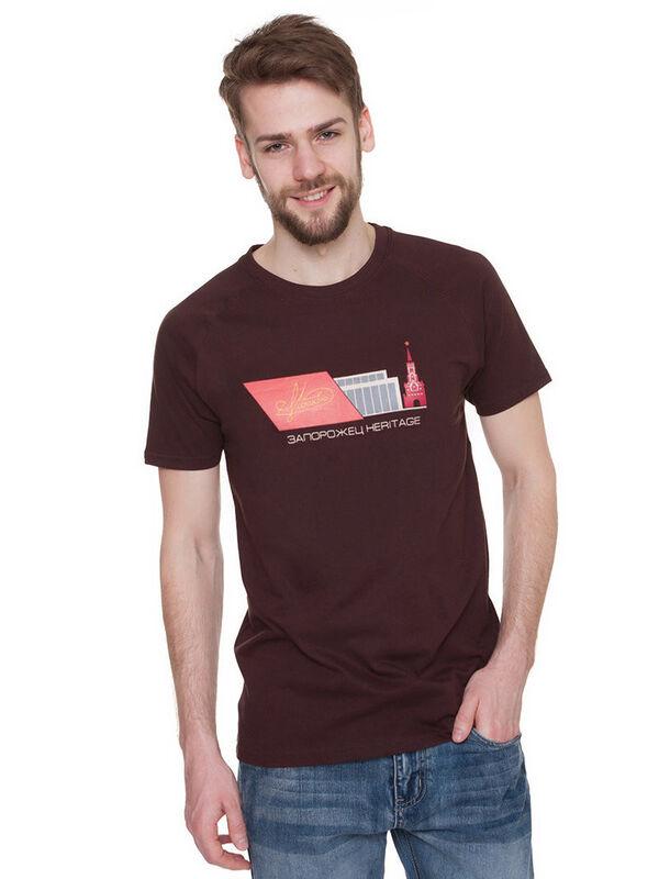 Кофта, рубашка, футболка мужская Запорожец Футболка «Moskva» SKU0108000 - фото 3