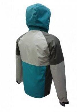 Спортивная одежда Free Flight Мужская мембранная горнолыжная куртка серая - фото 2