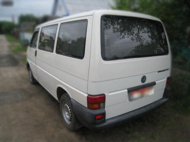 Аренда авто Volkswagen Transporter T4, 2002 г.в. - фото 2