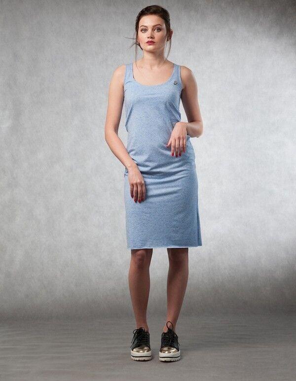 Платье женское MISUTERI Платье Maiku blue SS0134 - фото 1