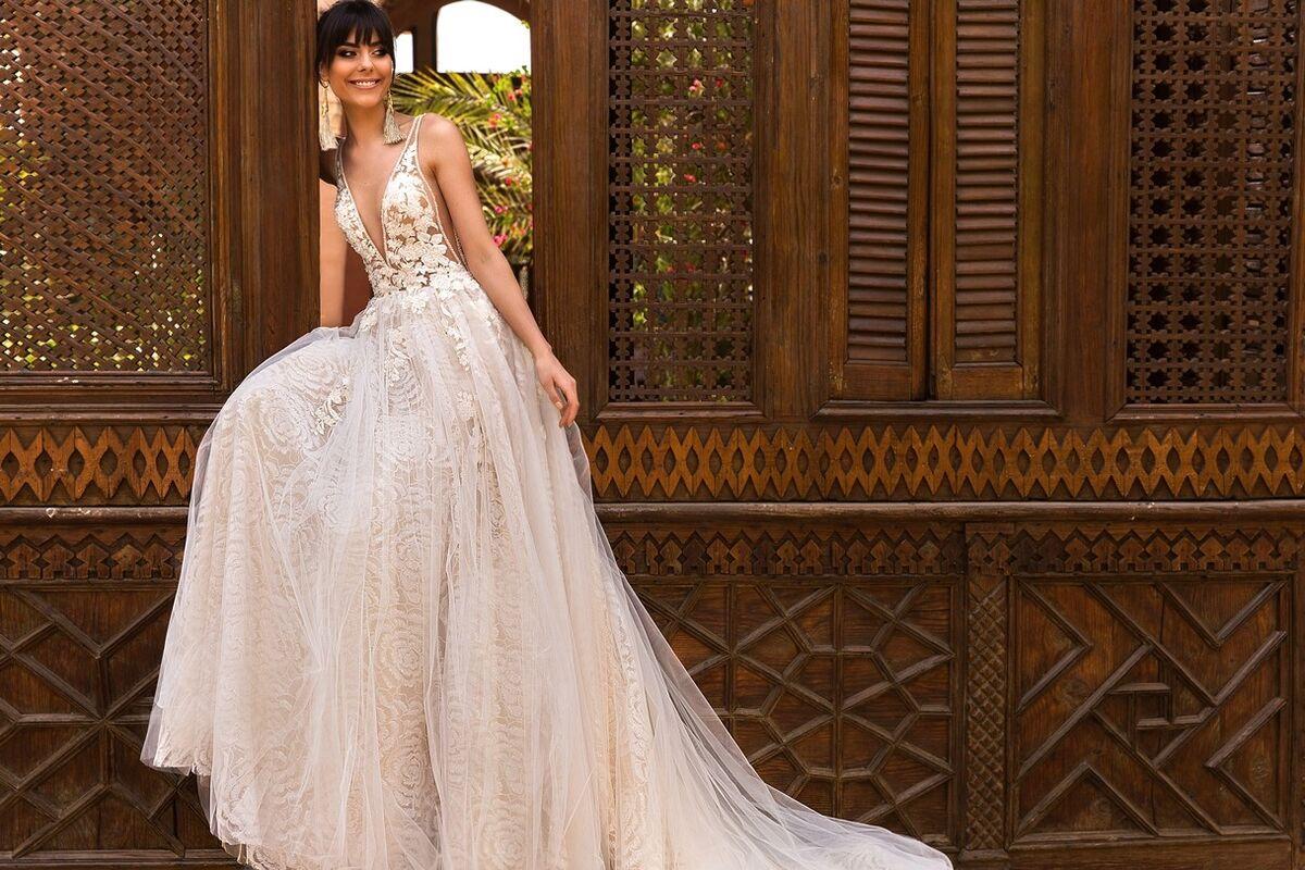 Свадебное платье напрокат Crystal Платье свадебное Rainbow - фото 2