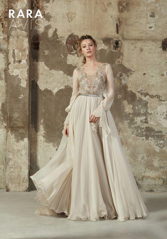 Свадебное платье напрокат Rara Avis Платье свадебное Floral Paradise Mleria - фото 1