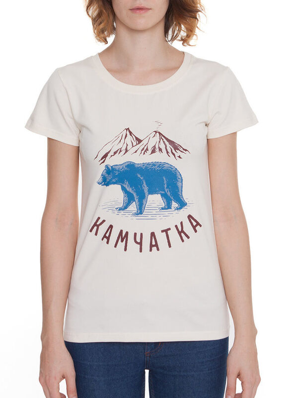 Кофта, блузка, футболка женская Тайга Футболка женская «Камчатка» SKU0025000 - фото 1