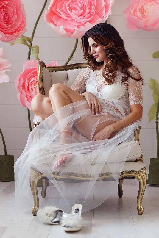 Свадебный аксессуар ALIZA Пеньюар Alvena - фото 4