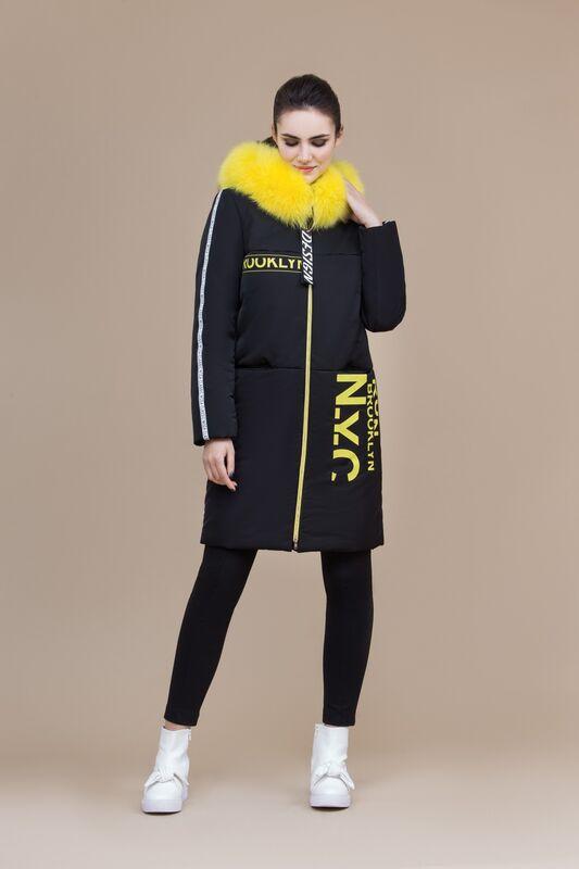 Верхняя одежда женская Elema Пальто женское плащевое утепленное 5-8100-1 - фото 1