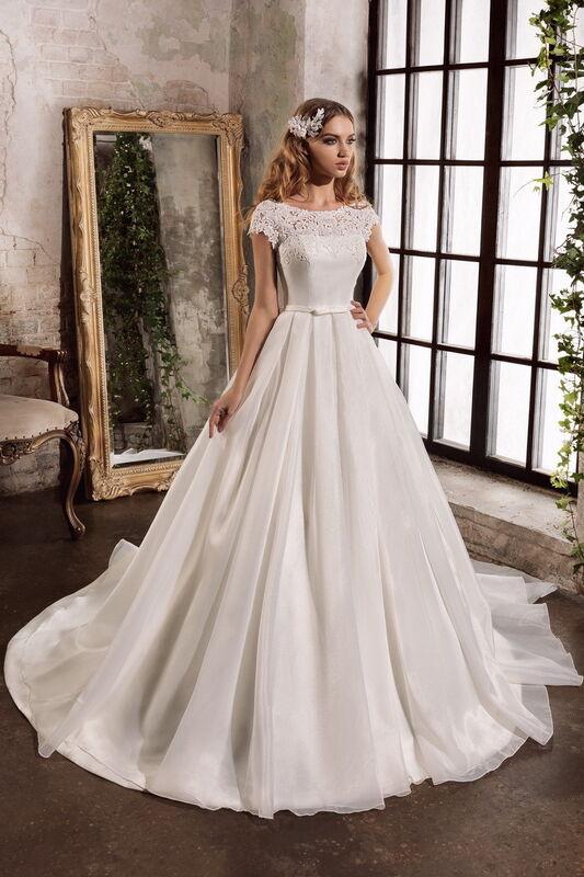 Свадебное платье напрокат Nora Naviano Платье свадебное Bonni - фото 1