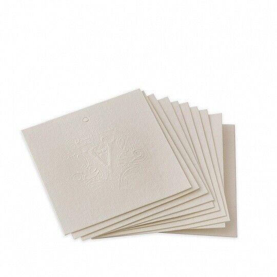 Подарок Dr. Vranjes Ароматизированные салфетки для белья Ambra, набор 10 шт, FRB0001 - фото 1