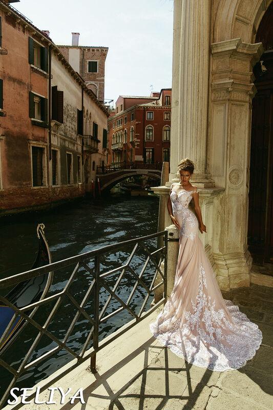Свадебный салон Bonjour Galerie Свадебное платье Seliya из коллекции La Douceur - фото 3