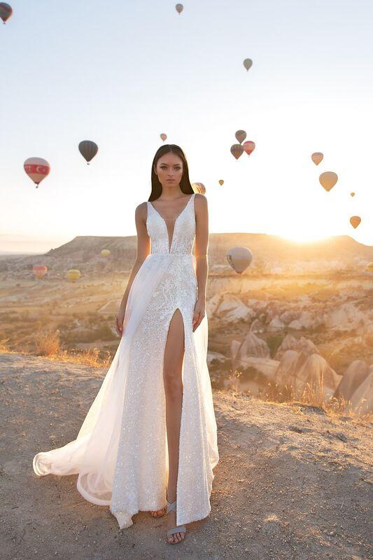 Свадебное платье напрокат Eva Lendel Kristina - фото 1