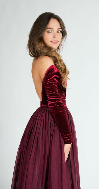 Вечернее платье Rimma Shanoyan Вечернее платье 478 - фото 2