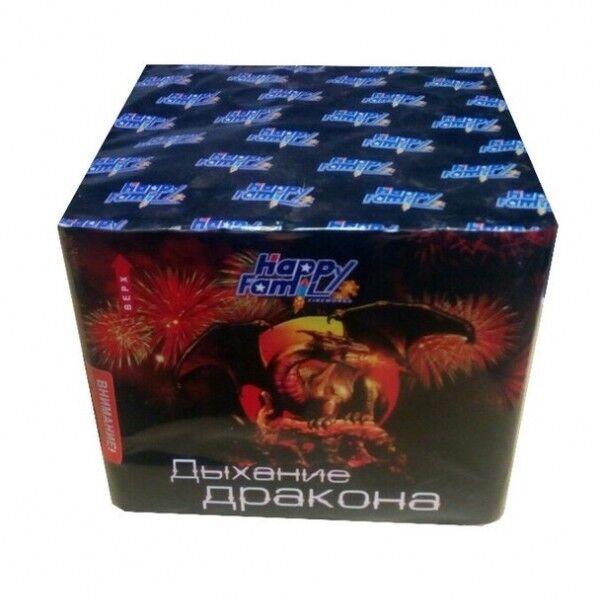 Фейерверк HappyFamily Батарея салютов «Дыхание дракона» FP-B208 - фото 1