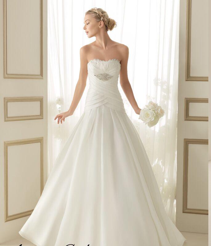 Свадебное платье напрокат Rosa Clara Платье свадебное Enora - фото 1