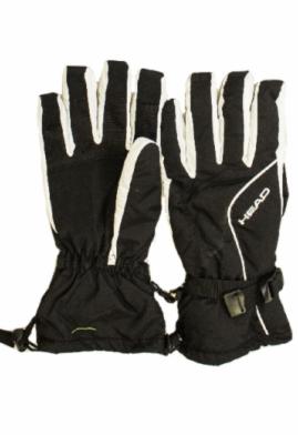 Спортивная одежда Head Мужские зимние перчатки черные - фото 1