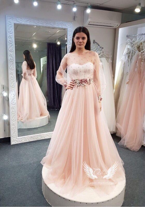 Свадебное платье напрокат ALIZA платье на роспись Alexxia - фото 1