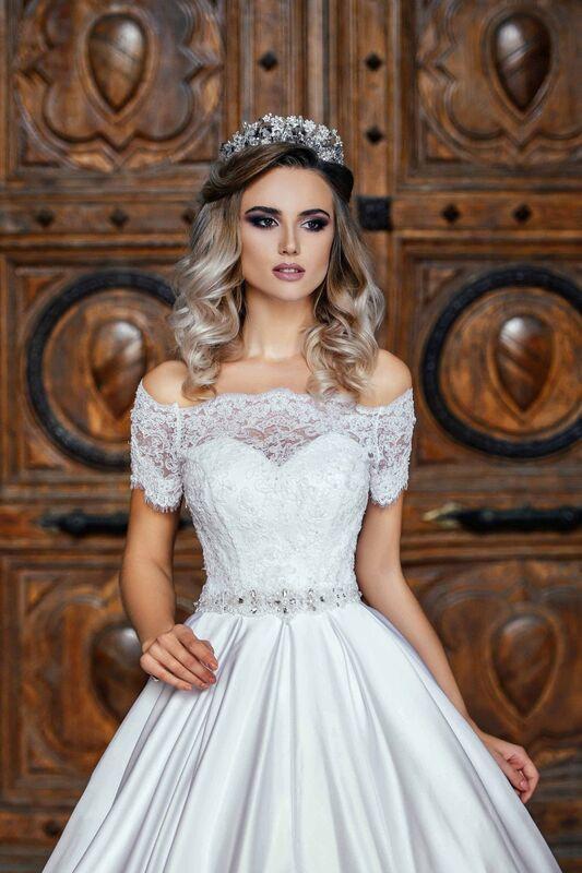 Свадебное платье напрокат Nicole Платье свадебное Evelyn - фото 2