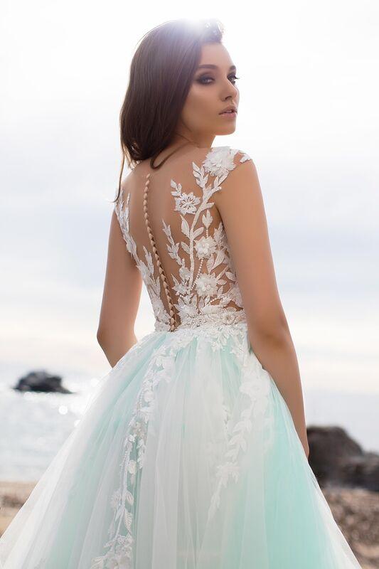 Свадебное платье напрокат Bonjour Платье свадебное «Ernesta» из коллекции LA SENSUALITE 2017 - фото 2