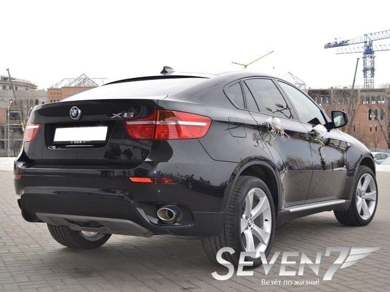 Аренда авто BMW X6 2012 г.в. - фото 3