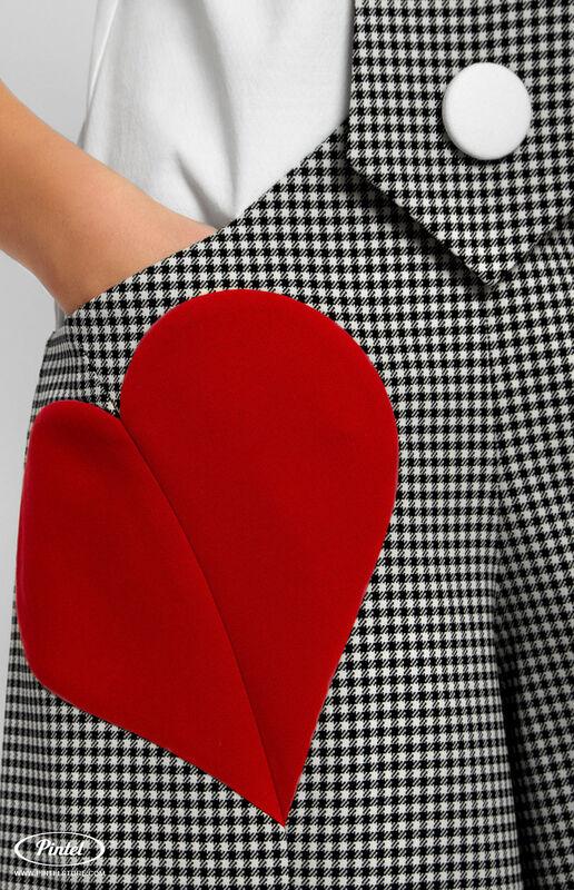 Брюки женские Pintel™ Комбинированный приталенный комбинезон без рукавов Mais - фото 2
