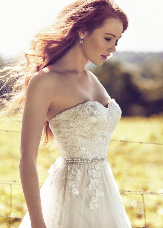 Свадебное платье напрокат Mia Solano Платье свадебное «Bellerose» - фото 3