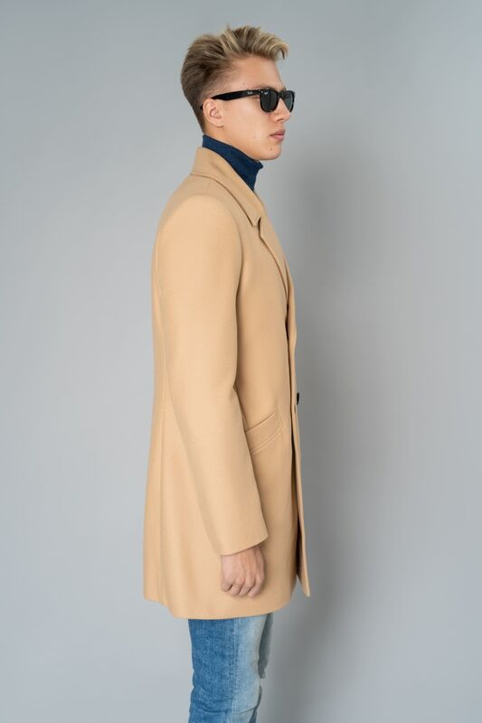 Верхняя одежда мужская Etelier Пальто мужское демисезонное 1М-8952-1 - фото 2
