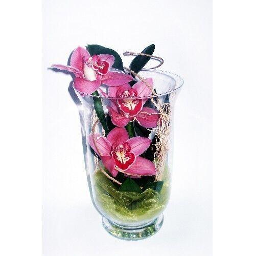 Магазин цветов Планета цветов Цветочная композиция в стекле №1 - фото 1