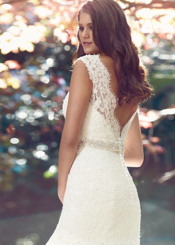 Свадебное платье напрокат Mia Solano Платье свадебное «Becca» - фото 1