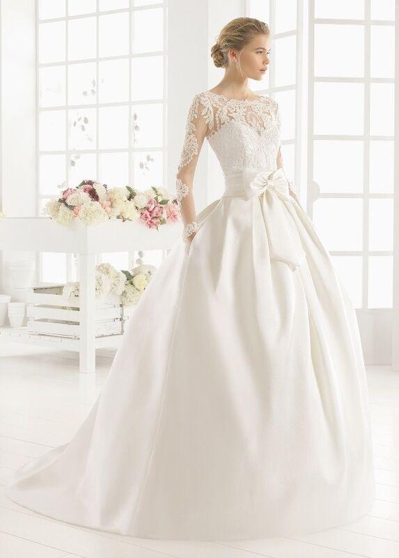 Свадебное платье напрокат Rosa Clara Платье свадебное Midas - фото 1