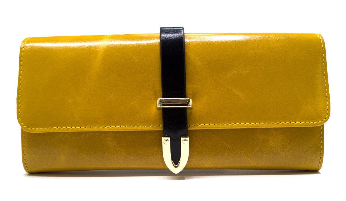 Кошелек, визитница, чехол Rozan Кошелек женский желтый 3093 - фото 1