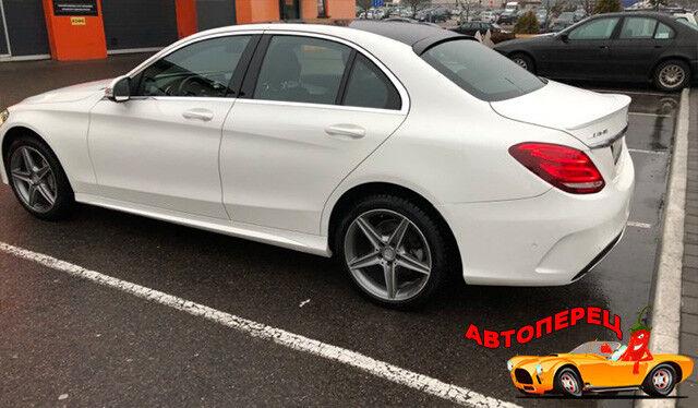 Прокат авто Mercedes-Benz C-class AMG - фото 3