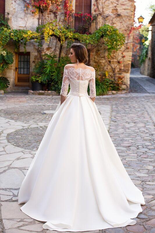 Свадебное платье напрокат Bonjour Платье свадебное «Zara» из коллекции LA SENSUALITE 2017 - фото 2