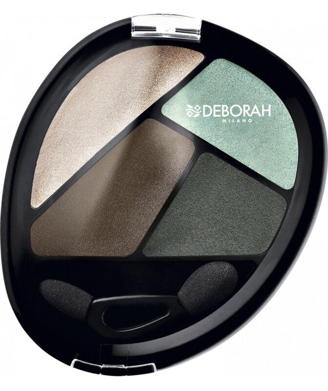 Декоративная косметика Deborah Milano Тени для век Eye Design Quad - 09 Eye Eyeshadow - фото 1