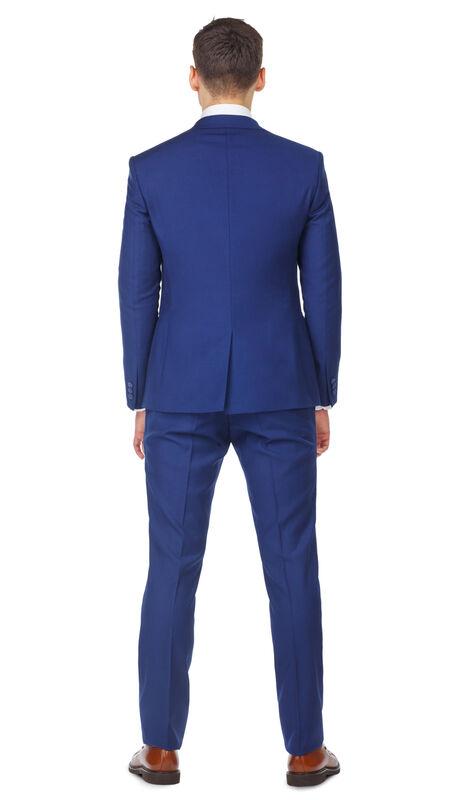Костюм мужской HISTORIA Смокинг синий с широким лацканом - фото 2