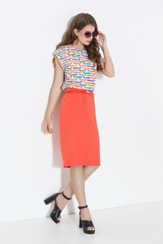 Кофта, блузка, футболка женская Elema Блузка женская Т-7732 - фото 1