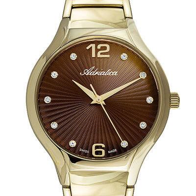 Часы Adriatica Наручные часы A3798.117GQ - фото 1