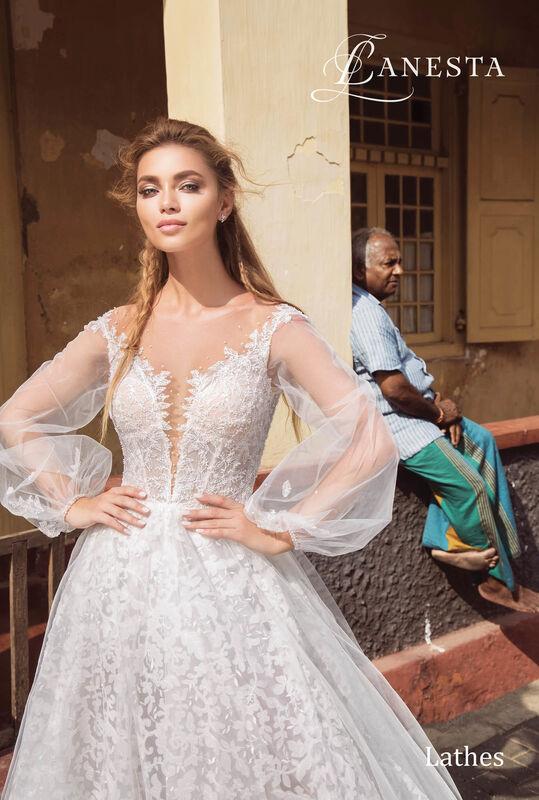 Свадебный салон Lanesta Свадебное платье Lathes - фото 3