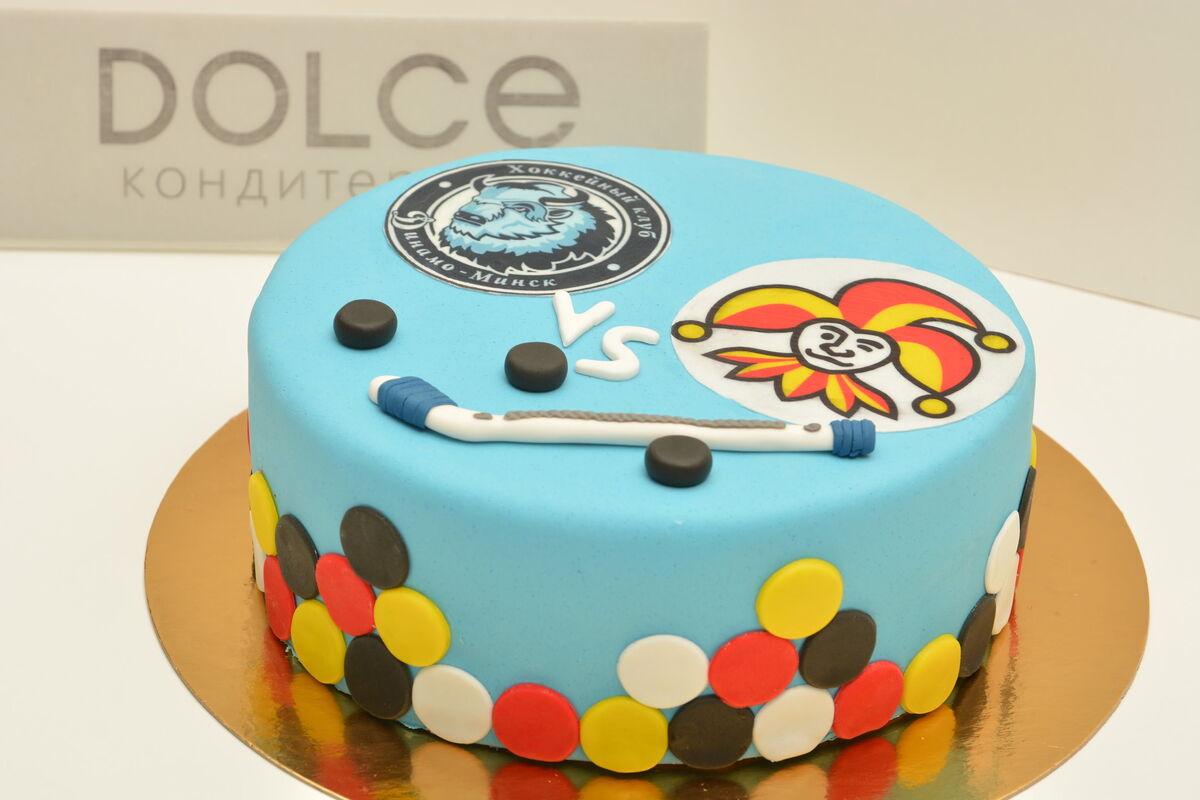 Торт DOLCE Корпоративный торт «Динамо-Минск» - фото 1