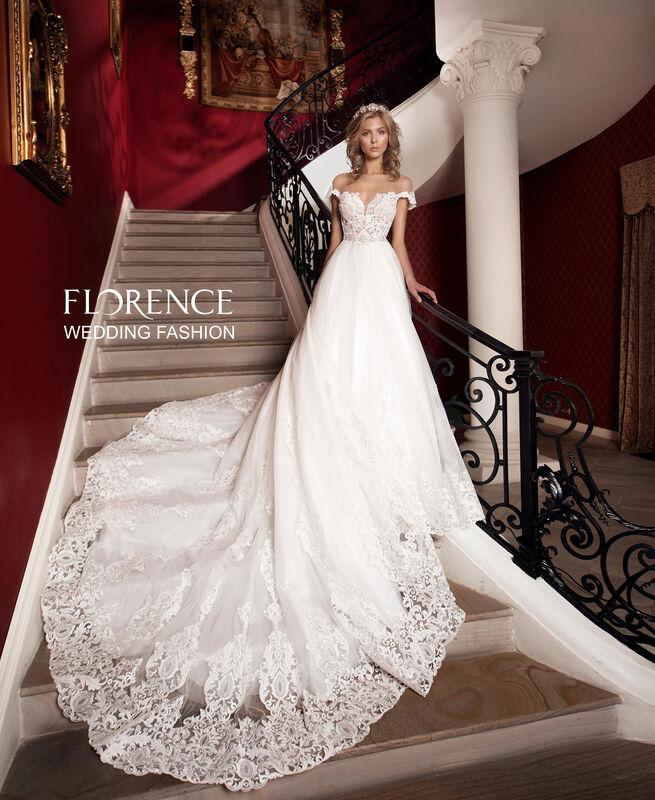 Свадебное платье напрокат Sophia Tolli Платье свадебное 1727 Barolo / Бароло Florence - фото 2