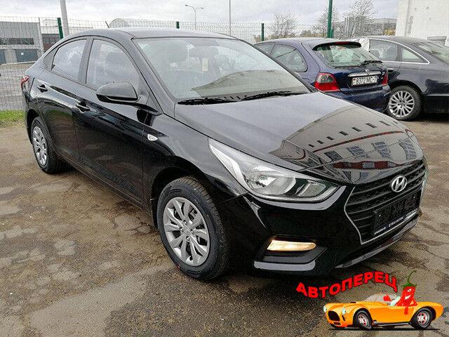 Прокат авто Hyundai Solaris 2018 - фото 1